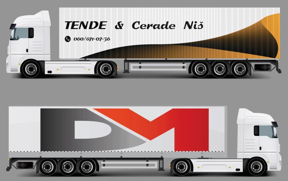 KAMIONSKE CERADE Brendiranje kamiona